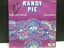 RANDY PIE Highway driver / microfilm 2041634