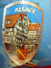 Alsace France new shield mount badge stocknagel hiking medallion G9922
