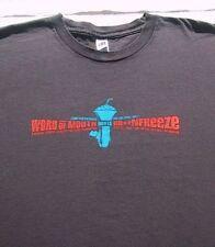 Word of Mouth Brain Freeze concert 3Xl T-Shirt Jurassic 5 Cut Chemist Dj Shadow