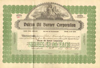 Vulcan Oil Burner Company > 1927 Nevada stock certificate share