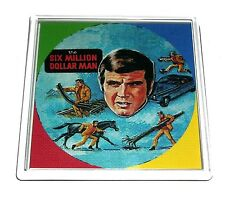 6 Six Million Dollar Man Lunchbox Coaster