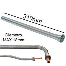Molla piegatubi tubo in rame alluminio curvatura tubi manuale 18mm x 310mm