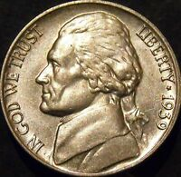 1939-P Jefferson Nickel Choice/Gem BU Uncirculated