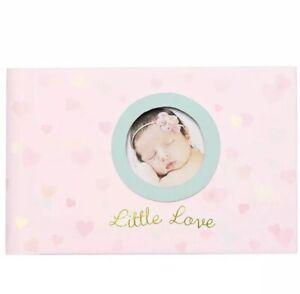 New C.R. Gibson Grandma's Pink Photo Brag Book Holds 20 photos, Little Love