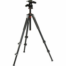Manfrotto MK055XPRO3-3W Aluminum Tripod with 3-Way Pan/Tilt Head. No Fees! NEW