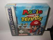 NINTENDO GAME BOY ADVANCE MARIO POWER TENNIS NEUF SCELLE