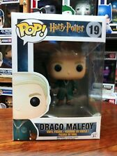 Harry Potter Draco Malfoy Quidditch 19 Funko Pop Vinyl US Excl Expert Packaging
