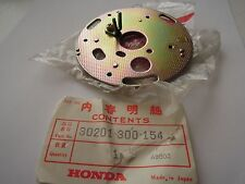 Honda CB750 CB550 CB500 Points Base Plate 30201-300-154