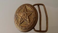 USSR Soviet army Ceremonial belt bronze buckle