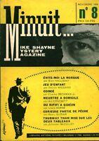 Livre ancien policier minuit minuit No 8 novembre 1959 book