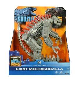 "Godzilla Vs. Kong 11 inch GIANT MechaGodzilla Monsterverse Playmates 11"" IN HAND"