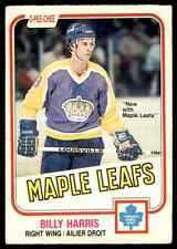 1981-82 O-Pee-Chee Billy Harris #144