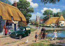 Ravensburger THE VILLAGE POSTMAN 1000 Pieces Jigsaw Puzzle Vintage Farm Country