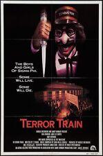 TERROR TRAIN - 1980 - original 27x41 horror movie poster- JAMIE LEE CURTIS