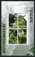 Dutch Caribbean Saba 2018 MNH Cloud Forest 4v M/S Trees Plants Nature Stamps