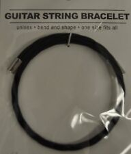 Black Guitar String Bracelet  Wire String
