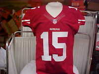2014 NFL San Francisco 49ers Game Worn/Team Issued Red Jersey Player #15 Size 42