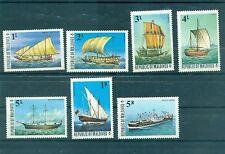 """VOILIERS - VESSELS MALDIVES 1975 Missing """"25 L"""""""