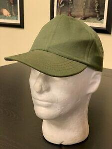 US Army Original Vietnam Era Vintage Cotton OG-106 Field Baseball Cap, SZ 7 1/4