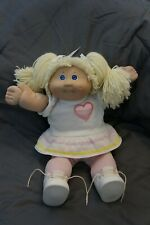 coleco cabbage patch kids doll rare 1985 with cardboard box and pkging plastic