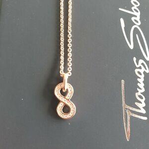 Halskette rosegold Infinity ♾ Neu Thomas Sabo