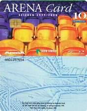 Arenakaart A029-01a 10 gulden: Stoeltjes 2002