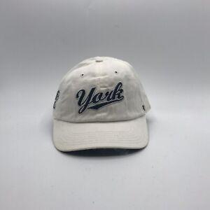 47 Brand York Revolution Minor League Baseball Mom Dad Strap Back Hat Cap Womens