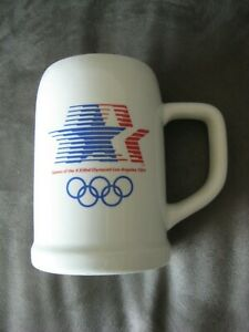 1984 L.A. Olympics Official Ceramic Team Stein/Tankard-NEW