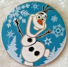 Disney Olaf From Frozen Disney Vip Movie Club Pin & 4.5 X 5.5 Lithograph Coa