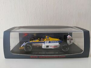 Spark 1/43 Williams Renault FW12C T. Boutsen - #5 Winner Gp Canada 1989 - S4322