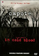 CAPOTE/IN COLD BLOOD (DVD, 2006, 2-DISC SET, BOX SET) NEW AND SEALED