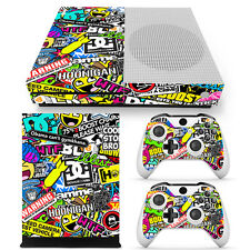 Xbox One S Skin Design Foils Sticker Screen Protector Set - Hoonigan Motif