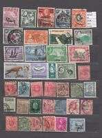 LOT STAMPS BRITISH COLONIES   USED (L43628)