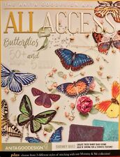 Anita Goodesign Embroidery Machine Cd All Access April 2018 Book & CD NEW