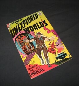 Mysteries of Unexplored Worlds #6 1957, Charlton silver age comic by Steve Ditko