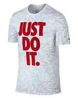 NIKE AOP PLAYS 'JUST DO IT' T-SHIRT!! Nwt! Sz. XL-T