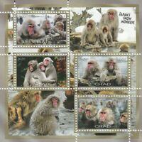 Affen Chad postfrisch 639