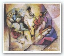 AFRICAN AMERICAN ART PRINT Sound by Essud Fungcap