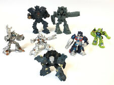 Lot 7 2007 & 2010 Mini Hasbro Transformer Toys Non Transformable
