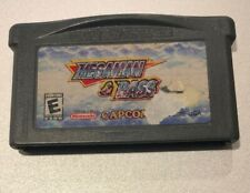 Mega Man & Bass (Nintendo Game Boy Advance, 2003) AUTHENTIC TESTED WORKING