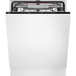 AEG FSE63807P Geschirrspüler vollintegrierbar Proclean Comfortlift Extra Silent