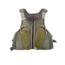 HOBIE Men's Thin-Back PFD GREEN Size MEDIUM #S6102MD Use w/ Vantage Kayak Seat