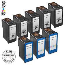 8p Lexmark 18C2090 14 18C2110 15 BLACK Color Ink Cartridge for z2300 x2670 x2650