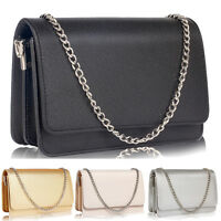 New Womens Celebrity Flap Clutch Bag Ladies Wedding Prom Party Evening Purse Bag