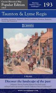 Taunton & Lyme Regis(Cassini Popular Ed.Hist.Map.Sheet,2007)NEW.End Of Stock!