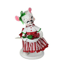 Annalee Dolls 2021 Christmas 6in christmas Candy Girl Mouse Plush New with Tag