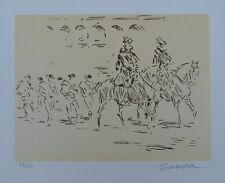 José de ZAMORA : Parade -LITHOGRAPHIE signée et numérotée - 50ex