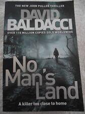 """"""" NO MAN'S LAND """"  ~ David Baldacci  ~ LARGE PAPERBACK"""