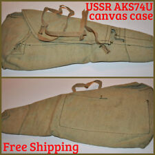 USSR AKS-74U Rifle Drop Case Canvas Bag AKSU Kalashnikov Krinkov Shortened AK74