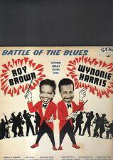 ROY BROWN / WYNONIE HARRIS - battle of the blues LP